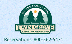 Twin Grove RV Resort and Cottages Pine Grove near Hershey Park Pennsylvania
