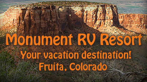 Monument RV Resort Fruita Colorado 81521