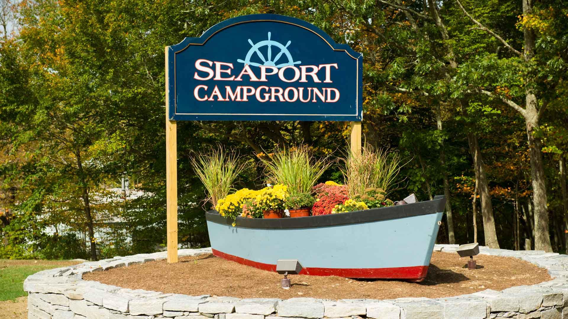 Seaport RV Resort & Campground Old Mystic CT 06372